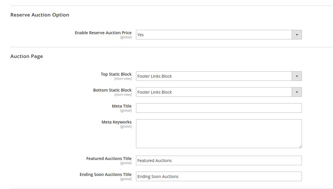 03f506917 Magento 2 Marketplace Auction | Online Aution System For Vendor
