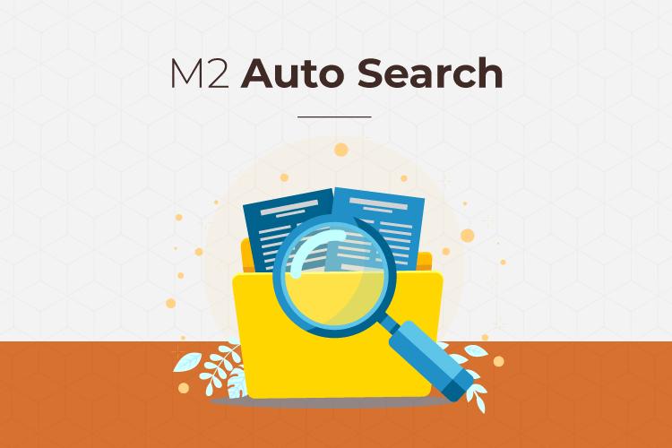 Magento 2 auto search