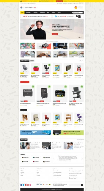 Stationery store Template