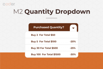 Magento 2 Quantity Dropdown