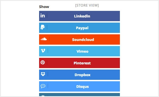 Log in to 25+ most popular social networks in a flash