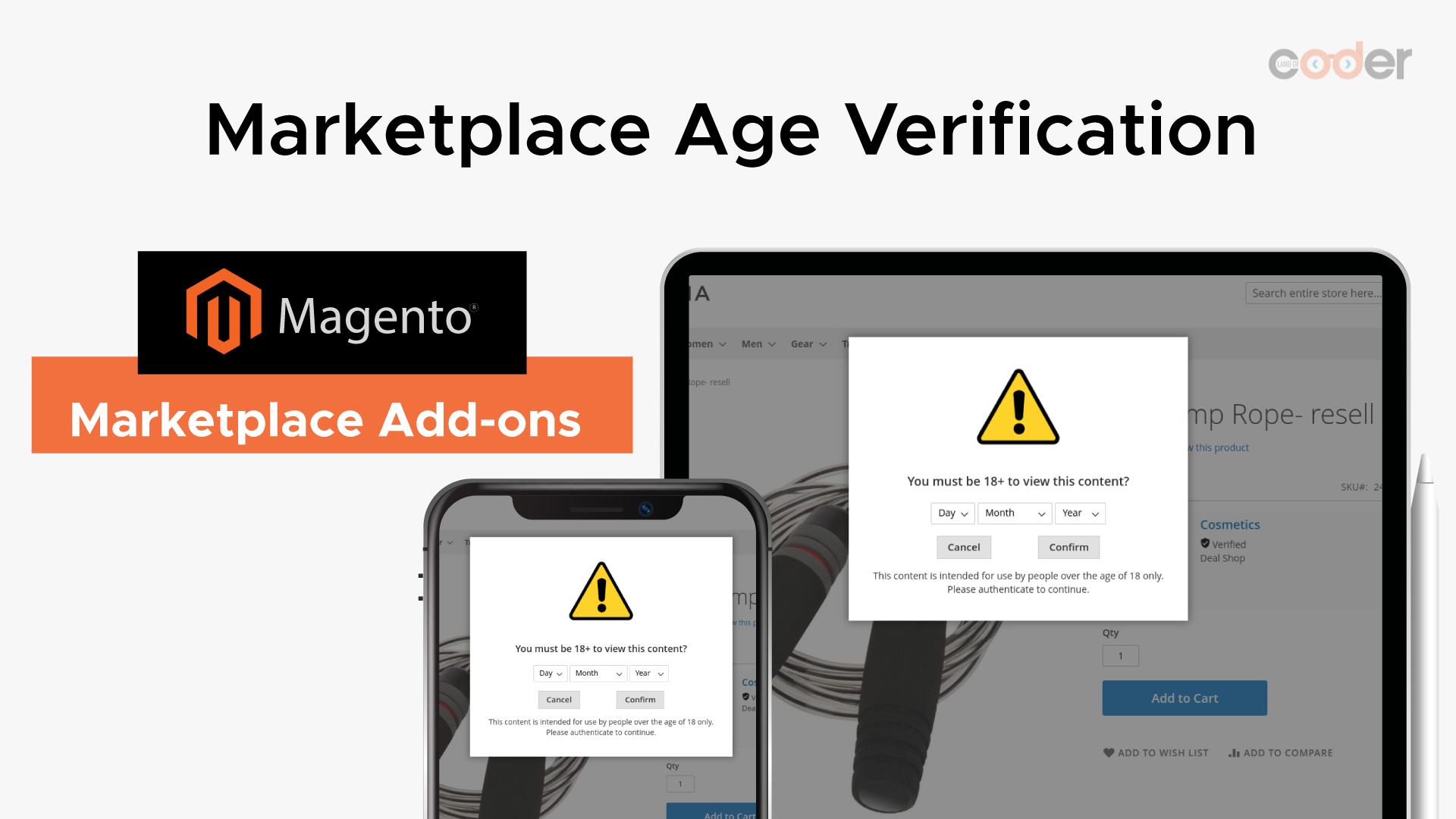 How to use Marketplace Age Verification