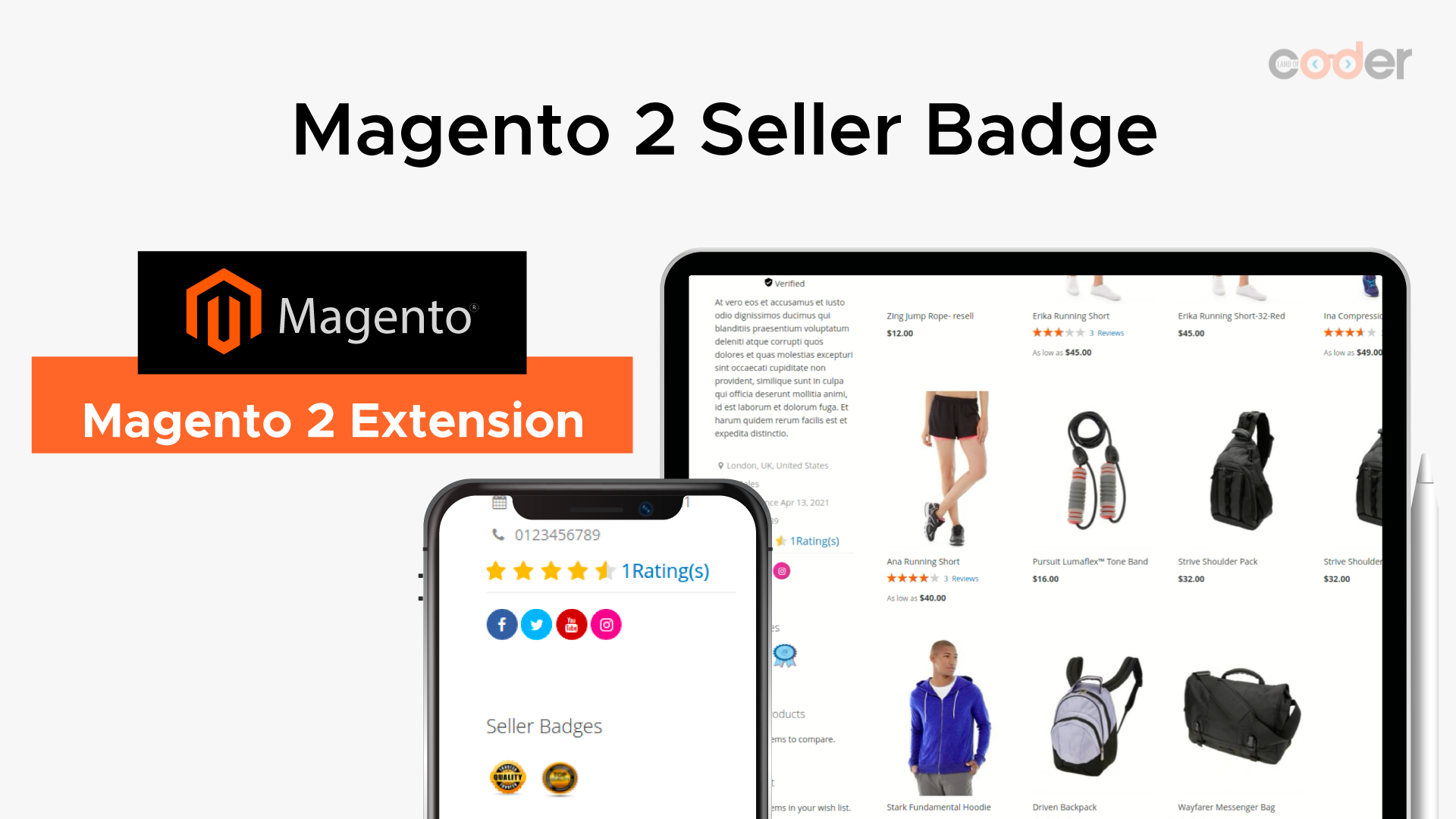 How to use Marketplace Seller Badge