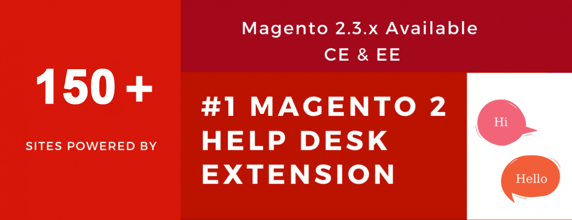 successful sites powered by magento 2 help desk extension