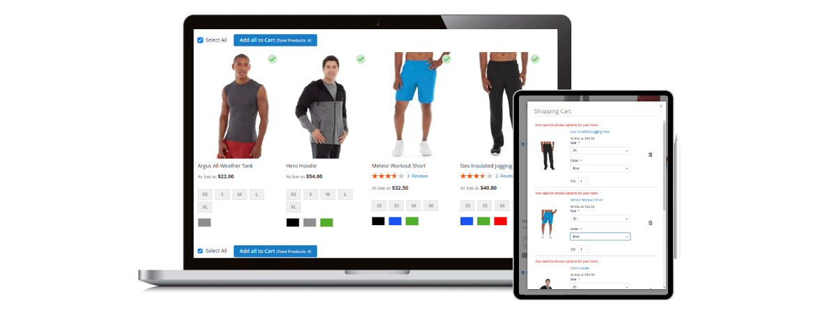 Magento 2 add multiple products to cart optimize