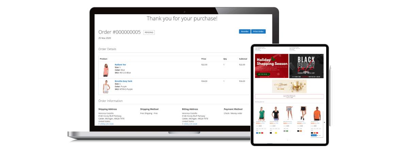 Magento 2 checkout success page optimize