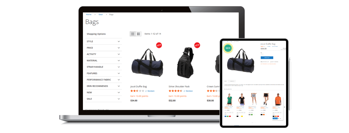 Magento 2 product labels optimize