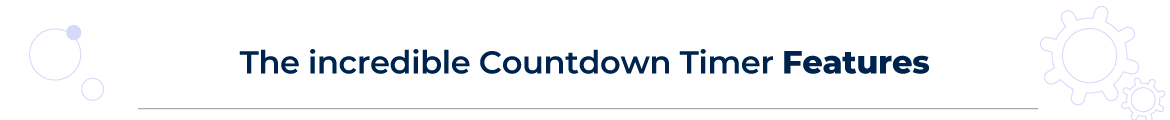 Magento 2 countdown timer features