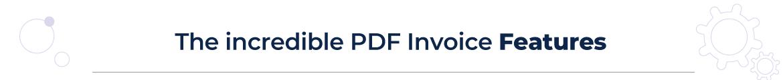 Magento 2 pdf invoice features