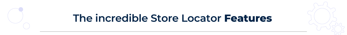 Store Locator for magneto 2 features