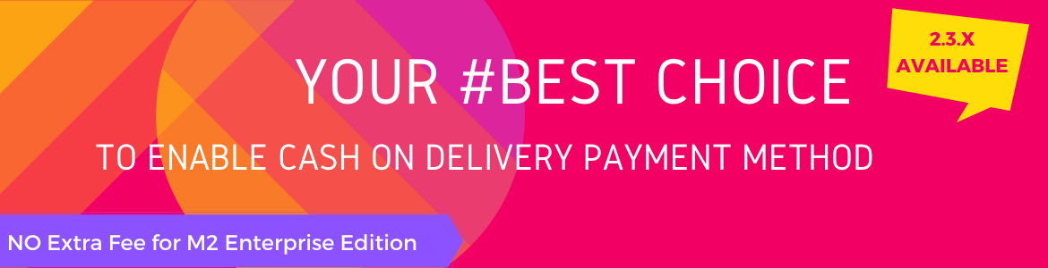best magento 2 cash on delivery extra fee