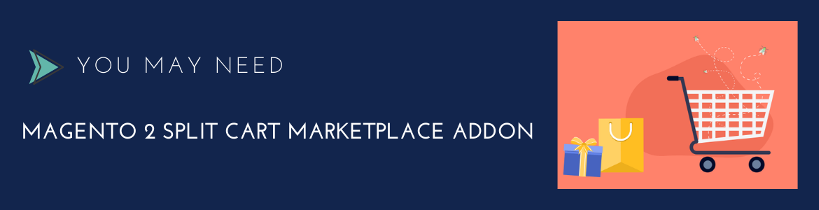Magento 2 marketplace split cart addon