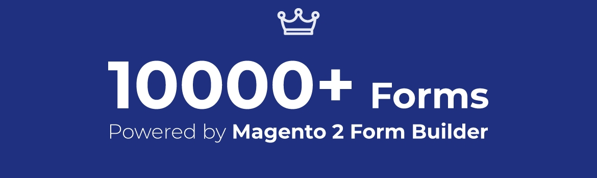 10000 websites powered by magento 2 form builder