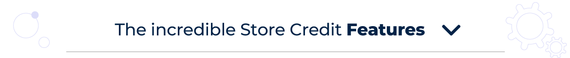 Magento 2 Store Credit Features