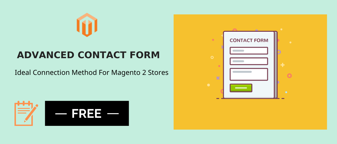 free magento 2 contact form