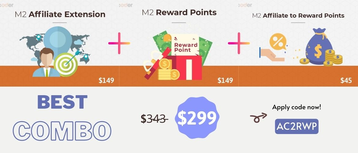 combo magento 2 affiliate to reward points
