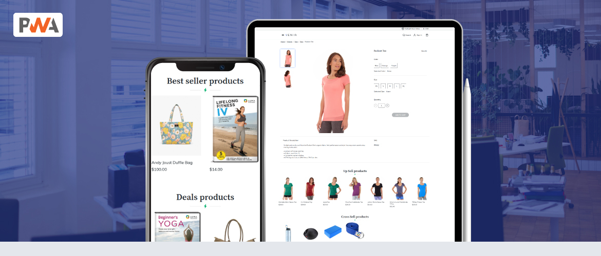 magento pwa for product list compatible