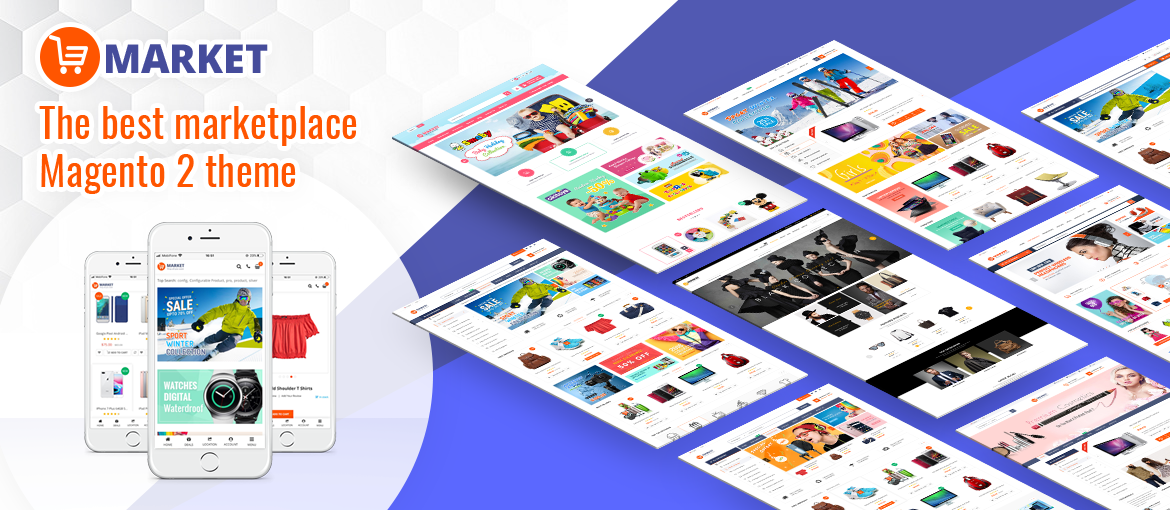 Magento 2 marketplace theme from MagenTech