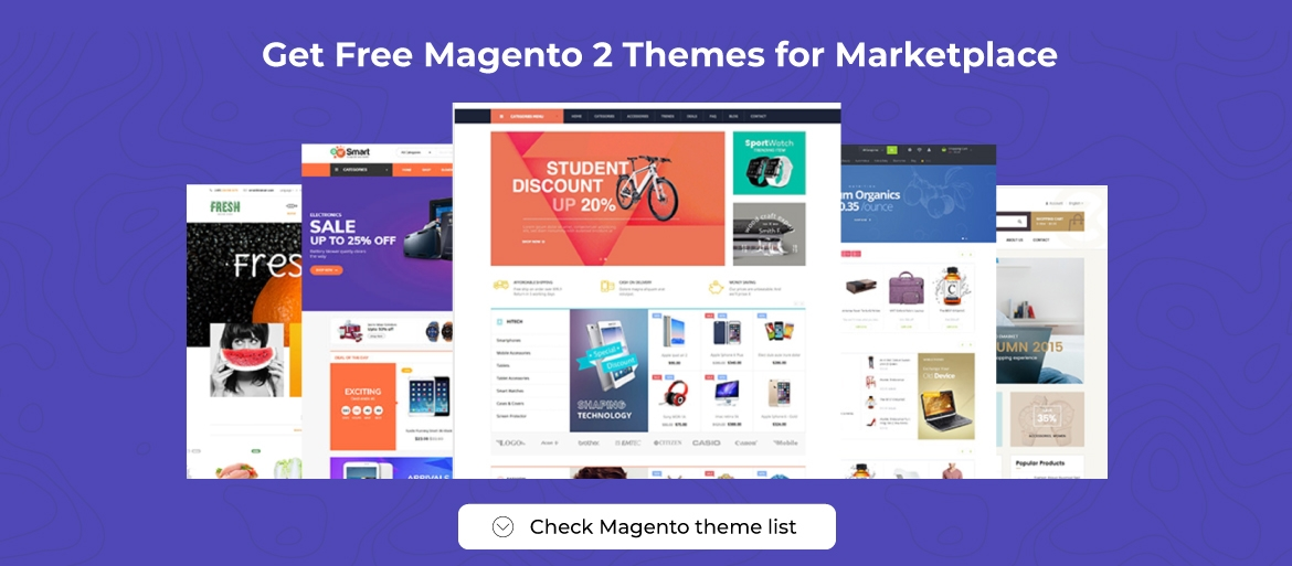 free magento 2 themes for marketplace enterprise