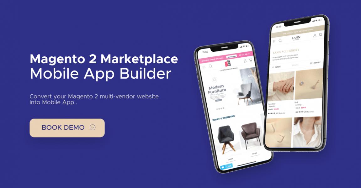 magento 2 multi vendor mobile app service