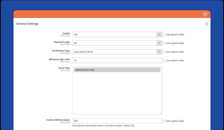 Arrange age verification for a purchase