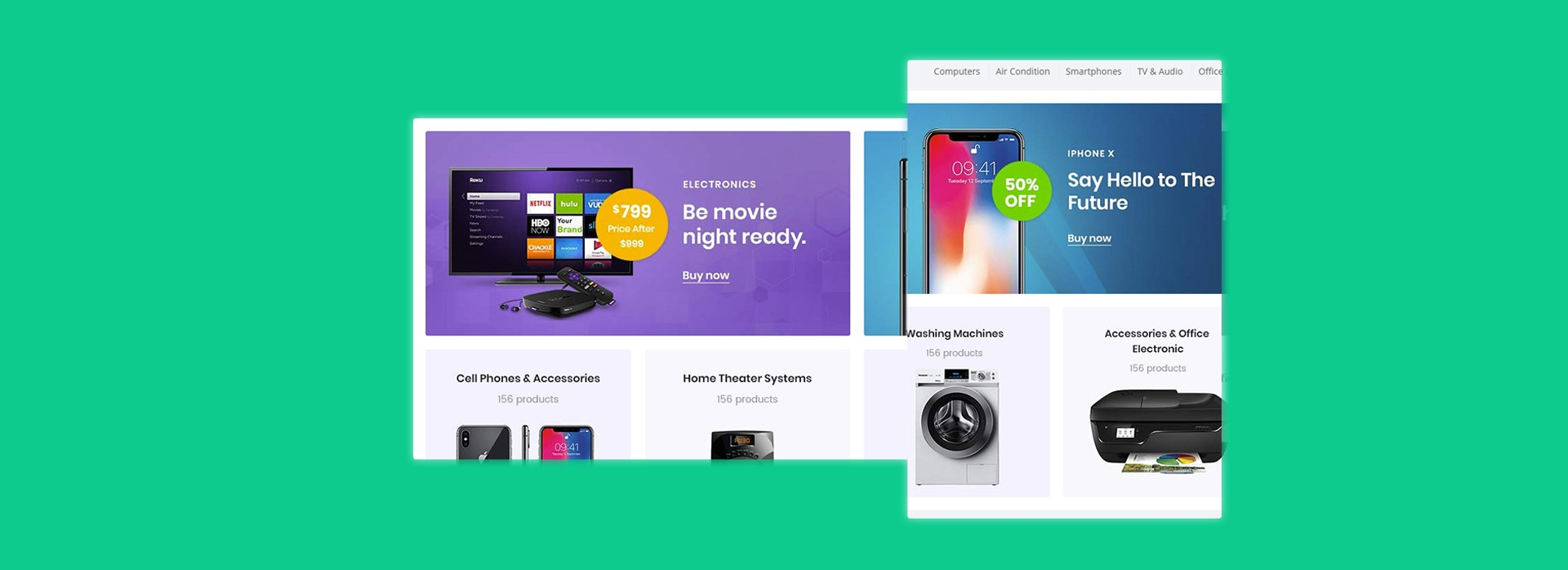 Bicomart Magento 2 Marketplace Theme - Product List Showcase
