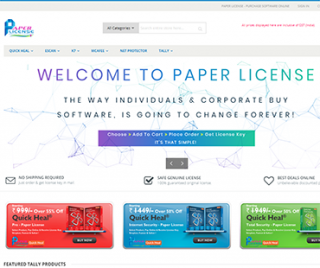 paperlicense.com