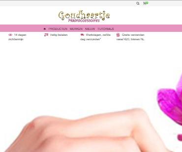 www.goudhaartje.nl