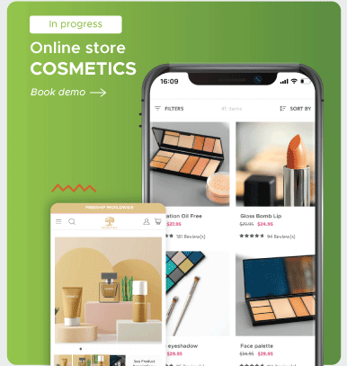 Cosmetic Online Store