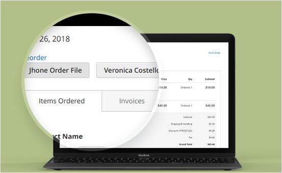 Generate different order files from multi-vendor
