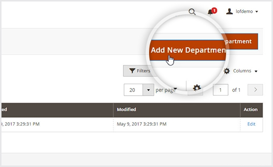 Create unlimited departments & agents in Magento 2 help desk