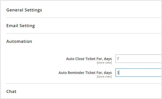 Schedule time auto close & auto remind in help desk Magento 2