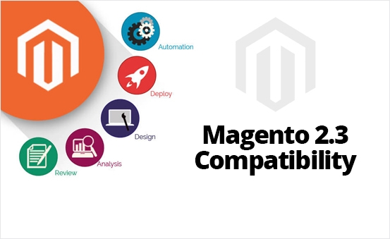 Fully compatible with Magento 2.3