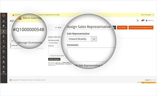 Magento 2 Sales Rep Extension | Sales Representatives & Dealers