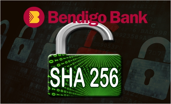 Support Secure Hash Type SHA256