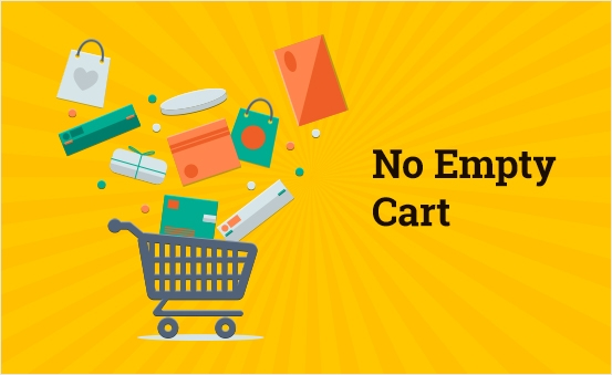 No Empty Cart On Cancel