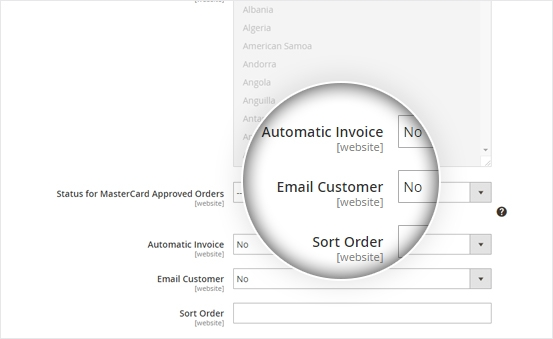 Generate Invoice & Send Order
