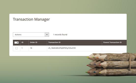 Flexible transaction management system