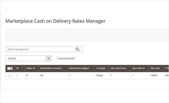 Manage marketplace COD rates effectively with Magento 2 Multi Vendor COD Cash On Delivery