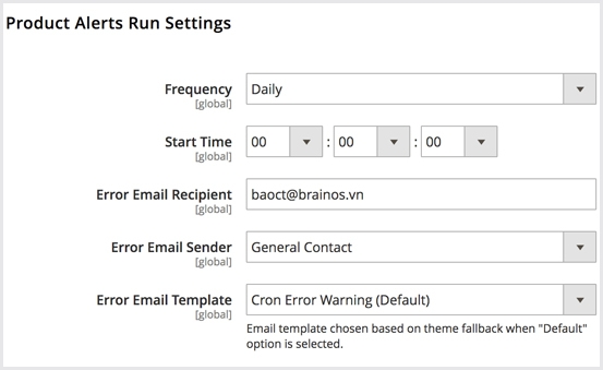 Notify By Email Automatically or Manually