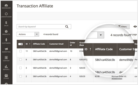 Transaction Management in Magento 2 Affiliate Extension