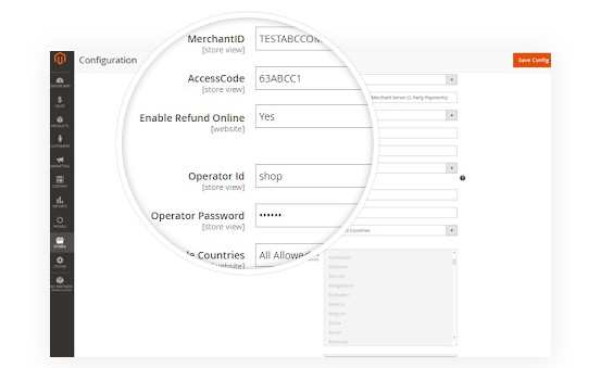 1-Click to Enable/Disable Refund Online Payment Transaction