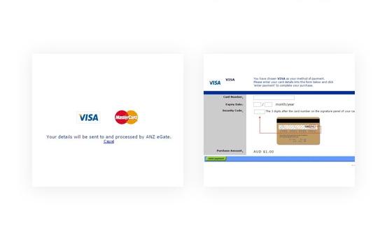 Simple, Quick & Secure Payment via ANZ eGate Payment Extension