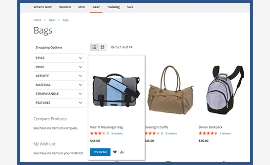 Replace the 'Add to Cart' button with the 'Pre-order' on product & category pages