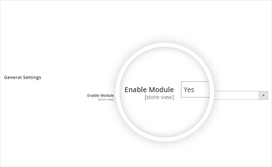 Enable/disable the extension by one click