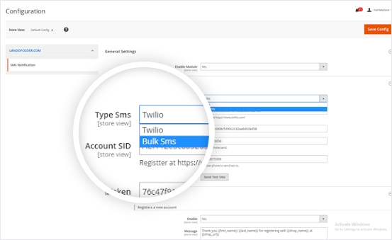 Powerful Twilo & BulkSMS API services Support