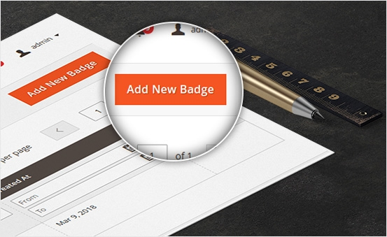Ease to create new Badge