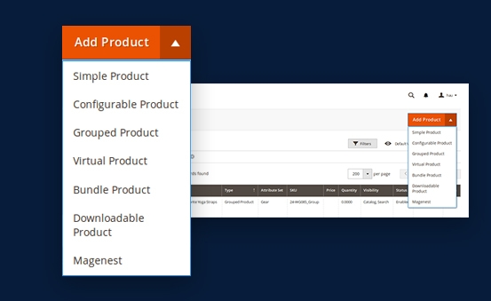 Use pre order function for simple, configurable, grouped or bundle products