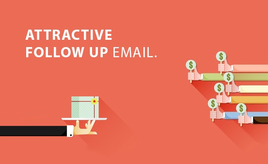 Display Attractive Follow Email