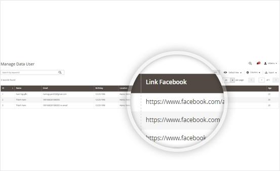 Get user information easily